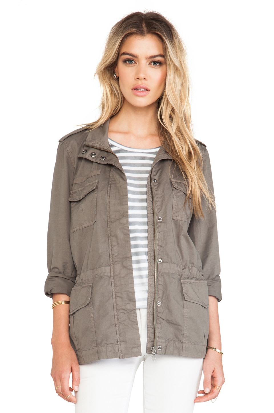 Soft Joie Elexus Jacket in Fatigue