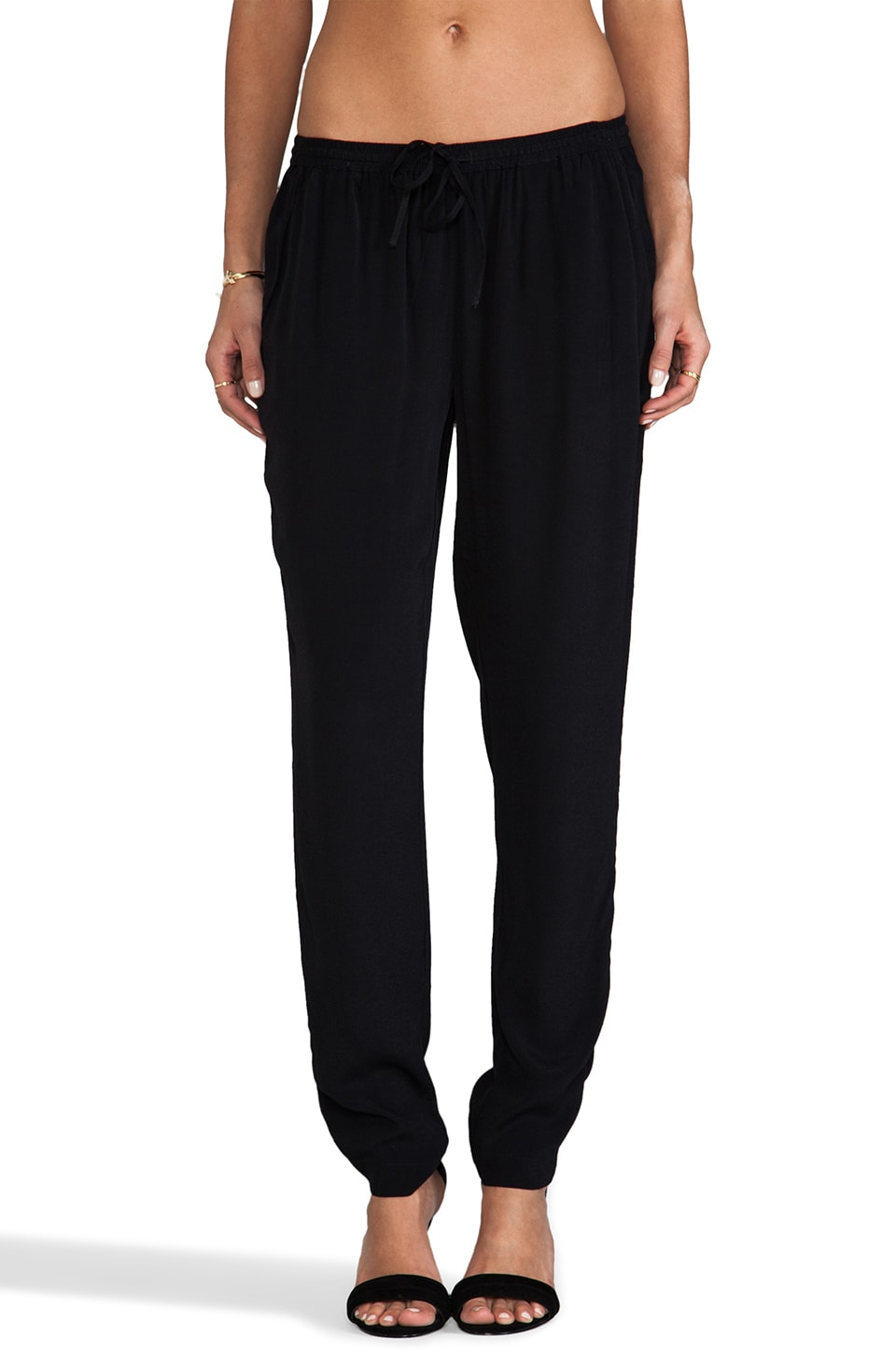 Soft Joie Kyla Pant in Caviar