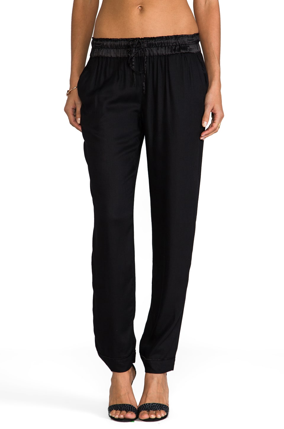 Soft Joie Cosmos Pant in Caviar
