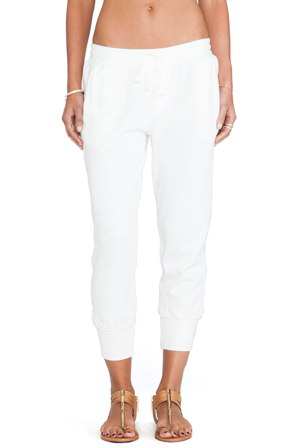 Soft Joie Rayo Sweatpants in Porcelain
