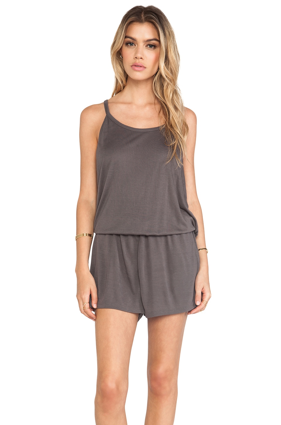 Soft Joie Jasina Romper in Shadow