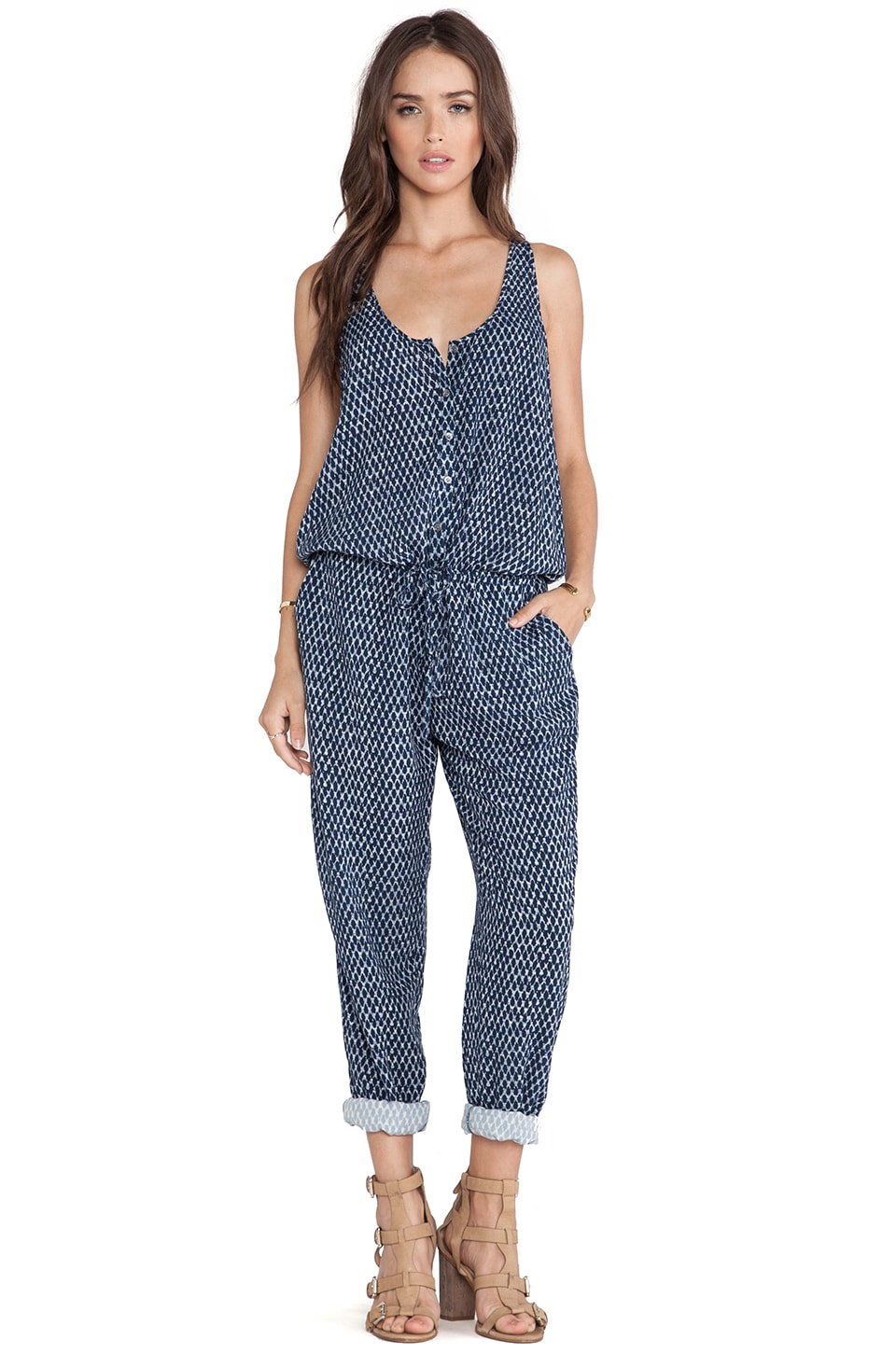 Soft Joie Biltmore Jumpsuit in Deep Indigo