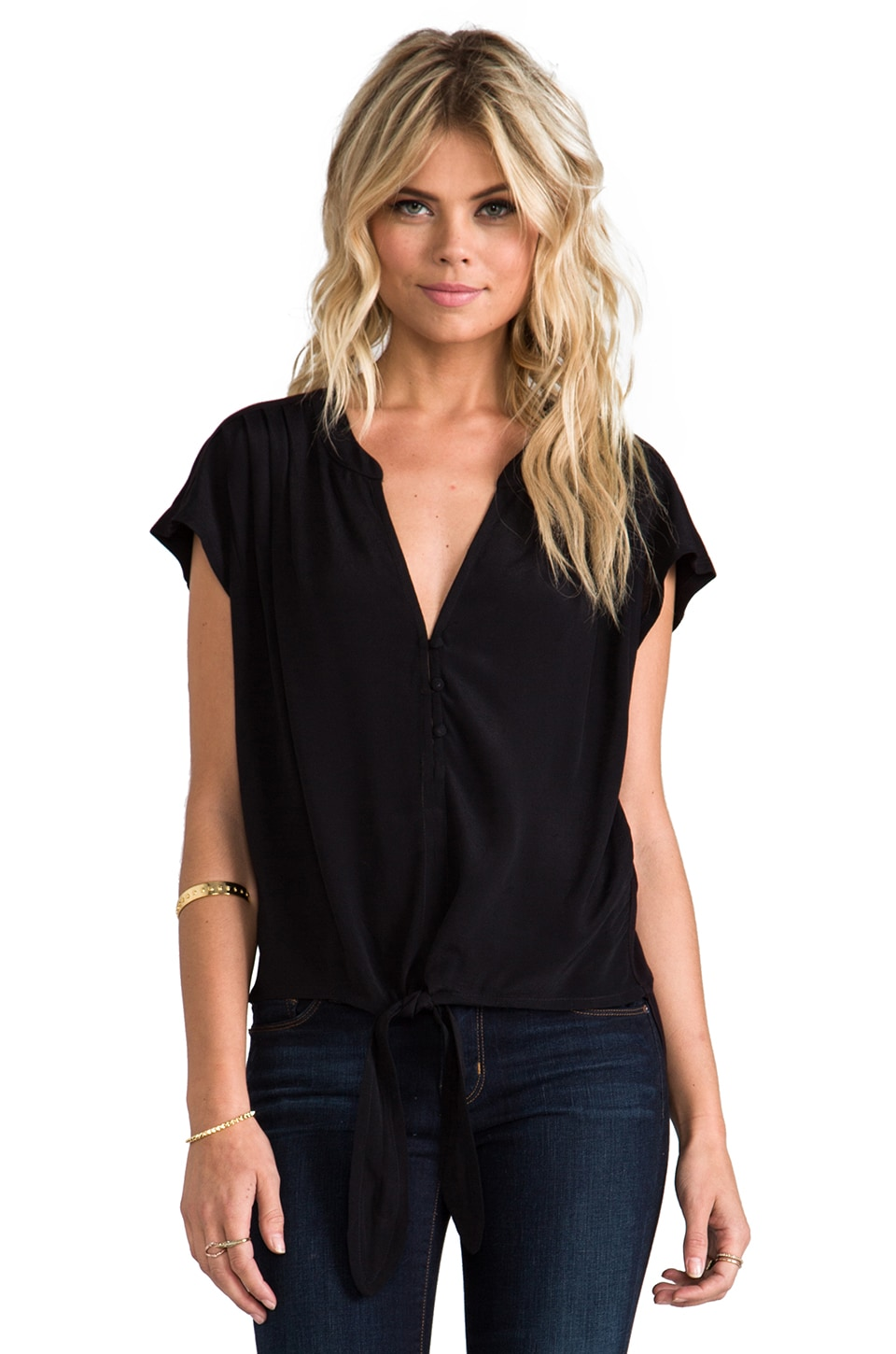 Soft Joie Chally Top in Caviar