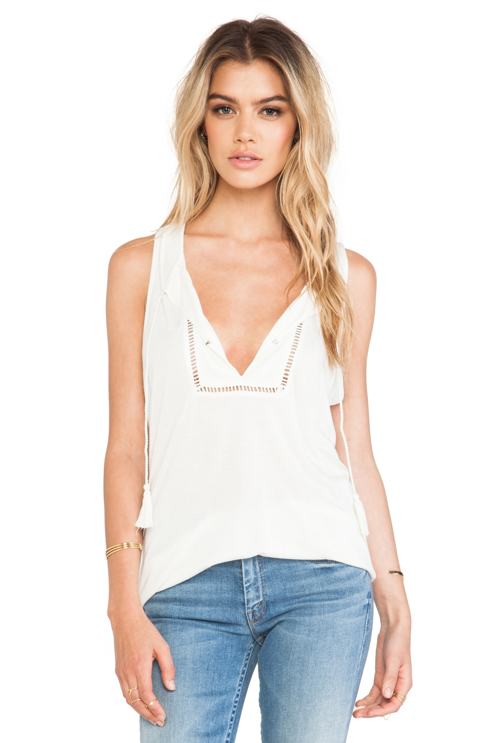 Soft Joie Sarobi Tank in Antique White