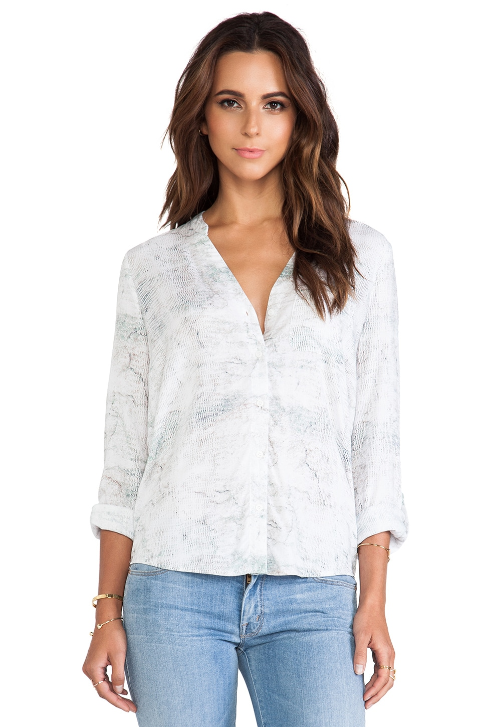 Soft Joie Anabella B Top in Porcelain