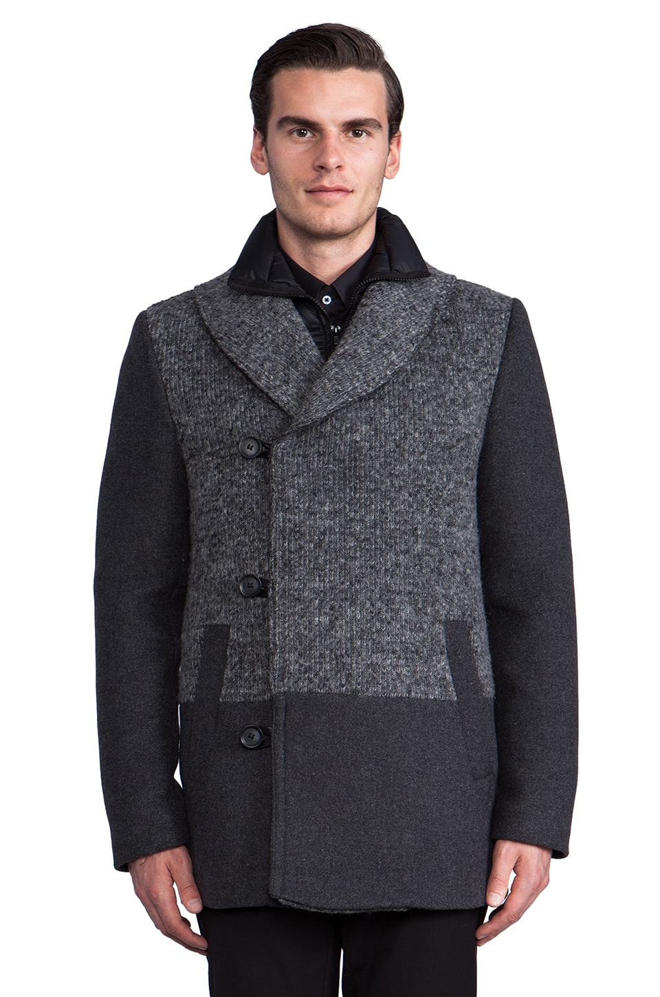 Soia & Kyo Ilan Jacket in Charcoal