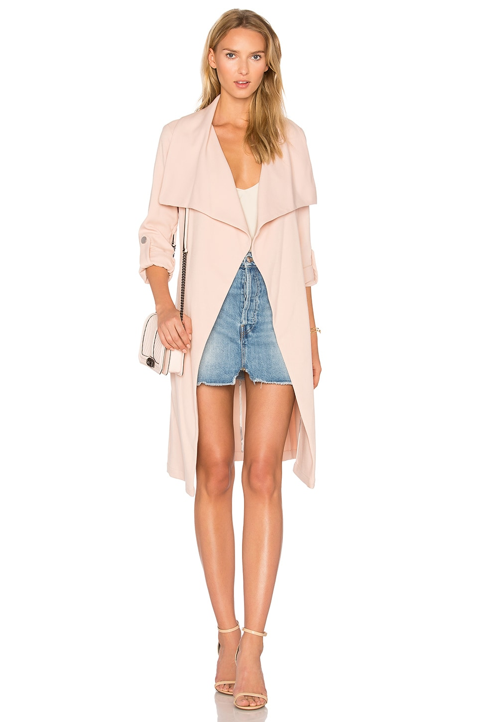 Soia & Kyo Ornella Trench in Rose