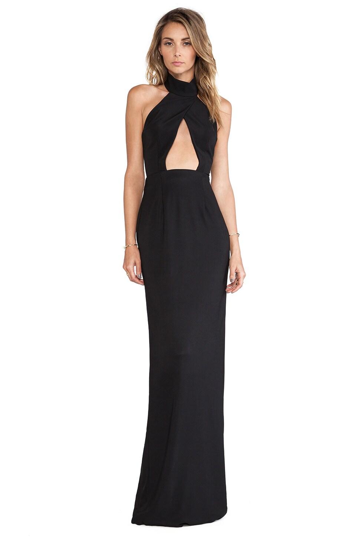 SOLACE London De Vit Maxi Dress in Black