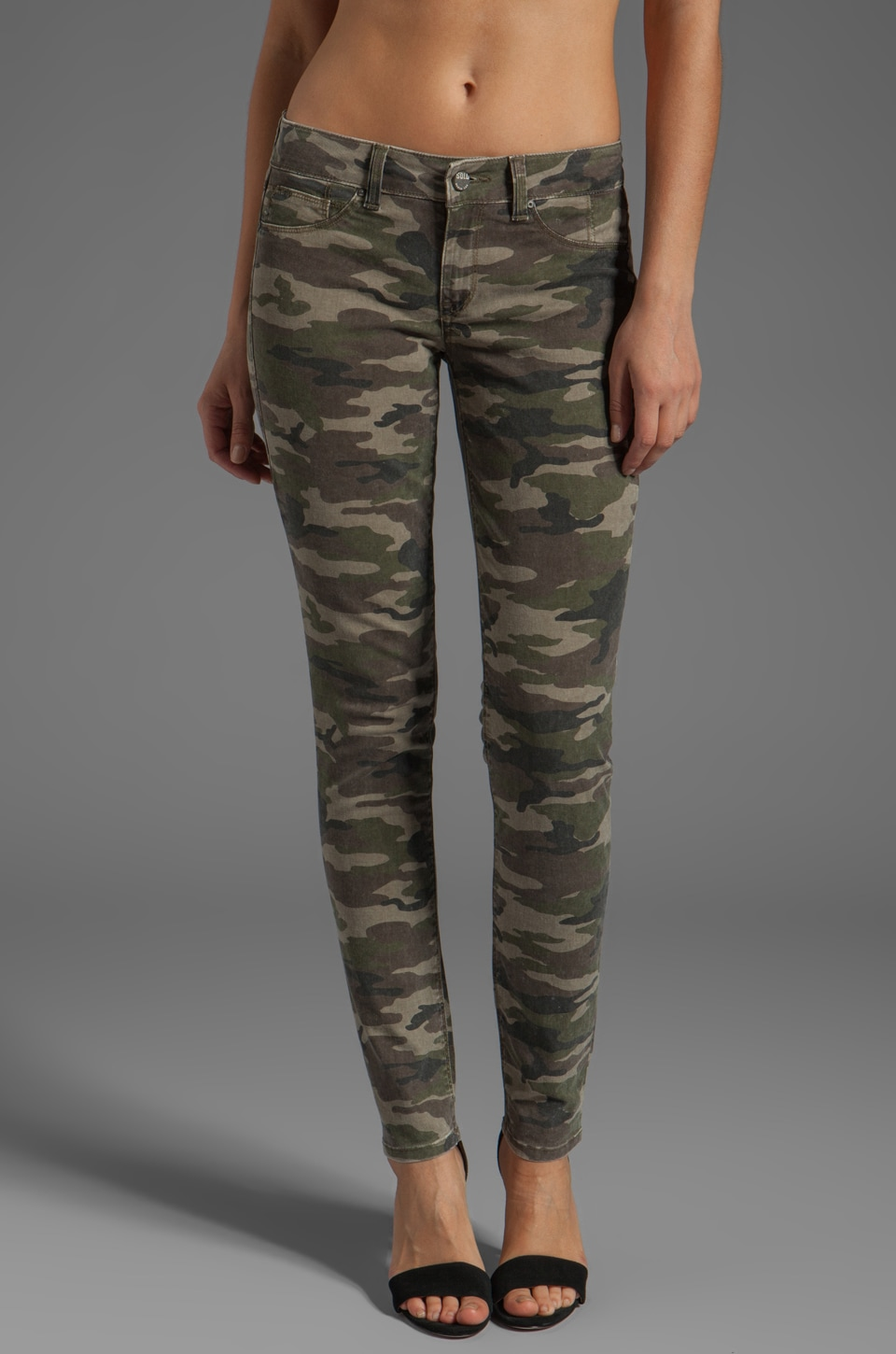 SOLD Design Lab Soho Super Skinny in Camo