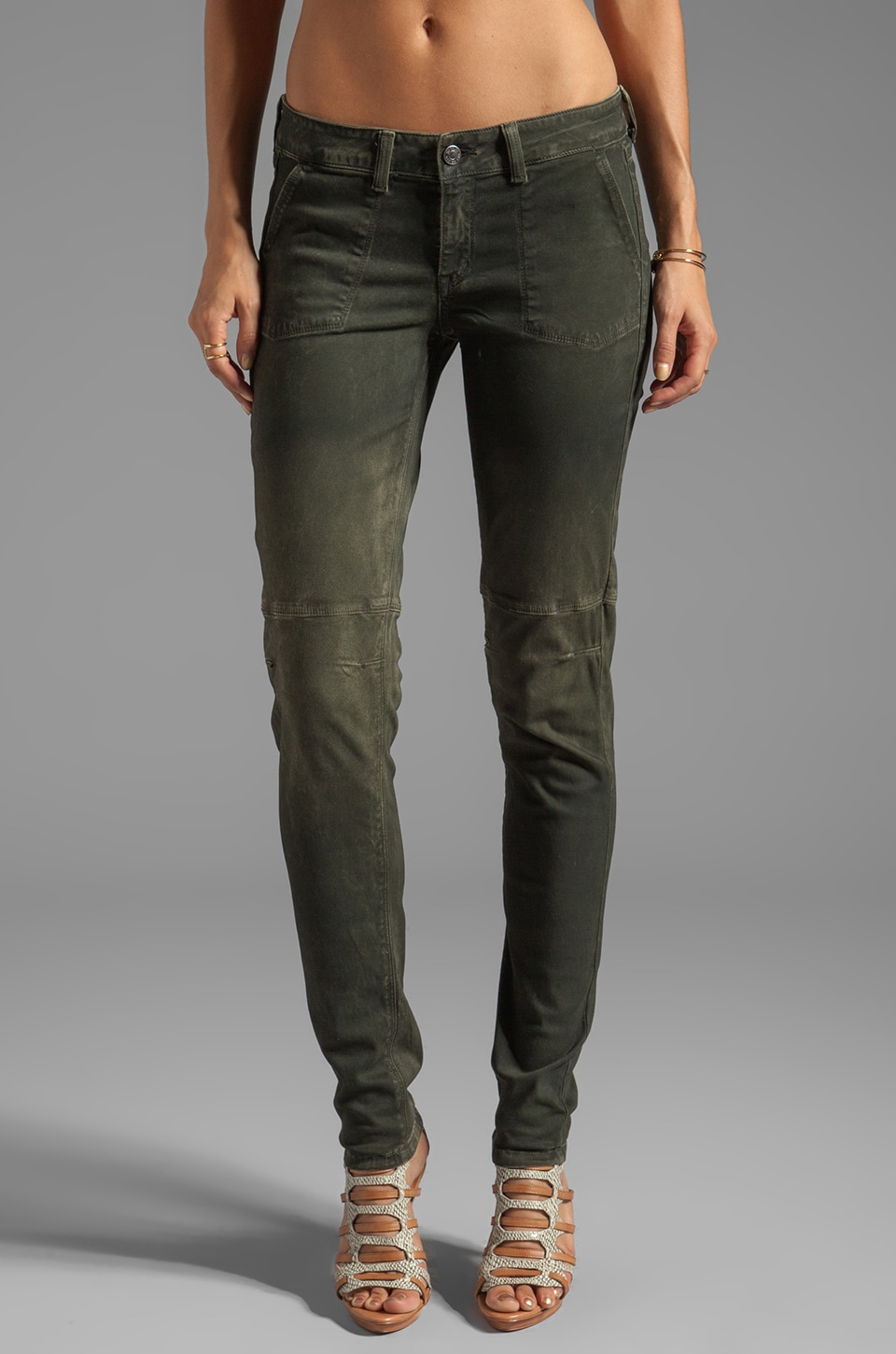SOLD Design Lab Soho Super Skinny in Olive