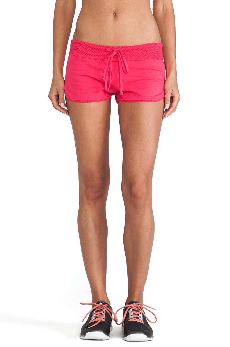 SOLOW Booty Short in Pomegranate
