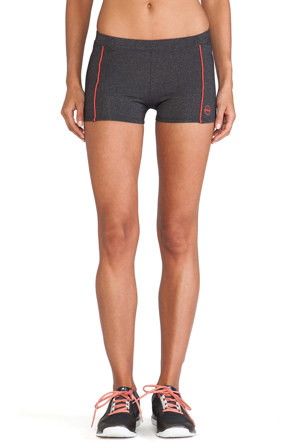 SOLOW Booty Short in Heather Charcoal & Samba