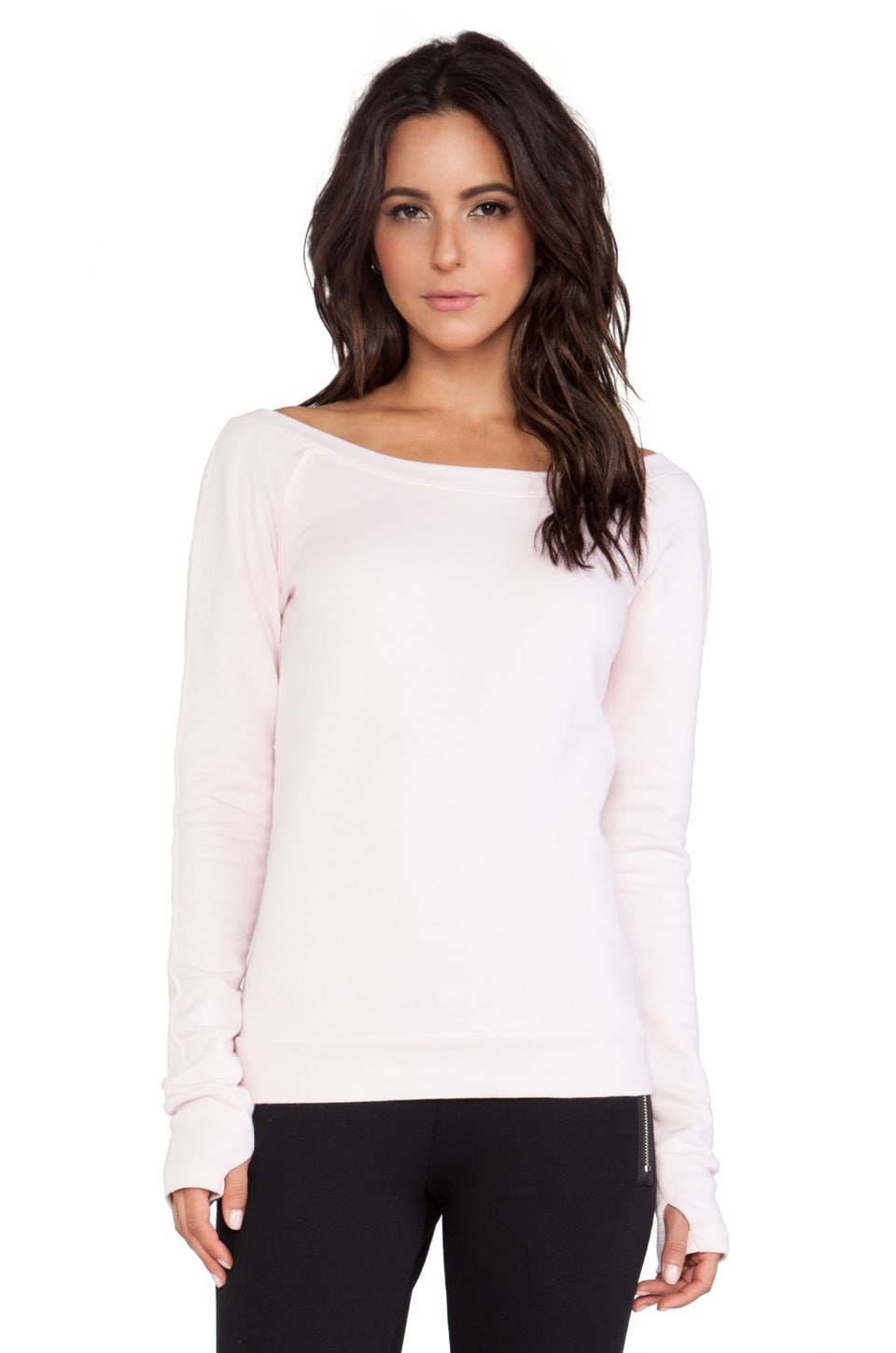 SOLOW So Low Ballet Sweatshirt in Ballet