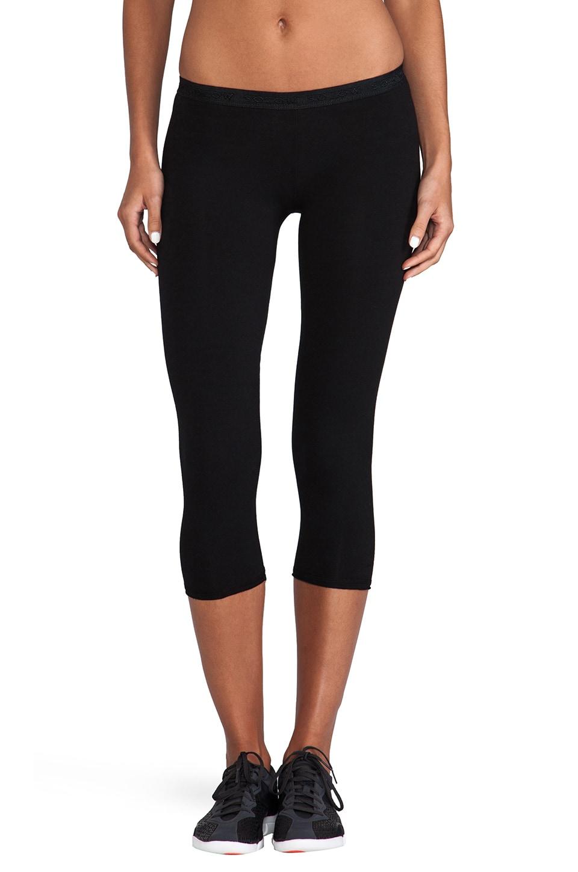 SOLOW Basic Crop Legging in Black