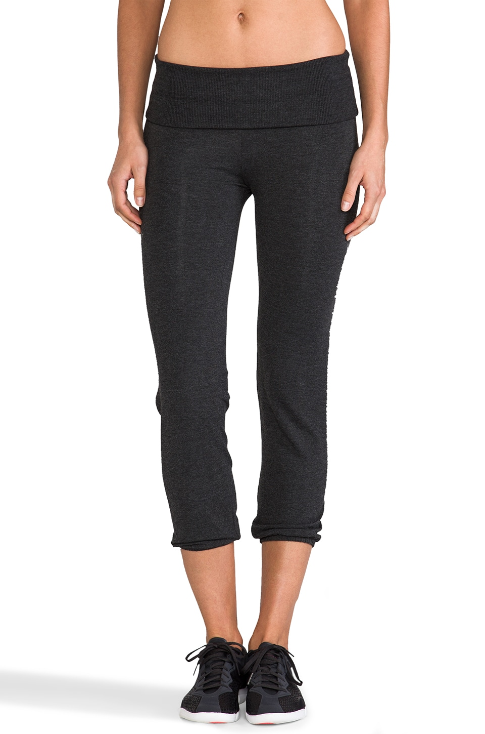 SOLOW Old School Sweatpants in Charcoal
