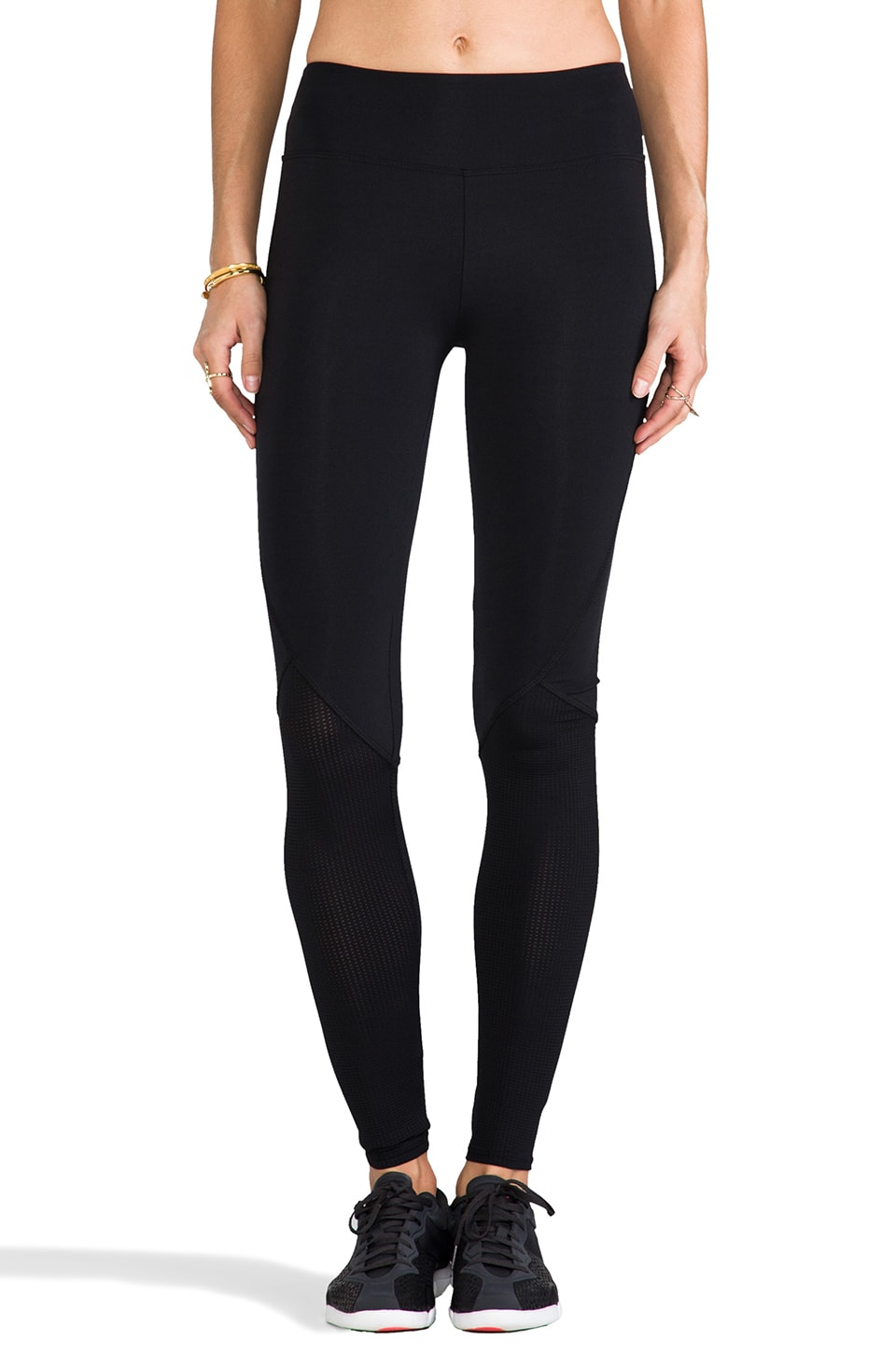 SOLOW Mesh Legging in Black