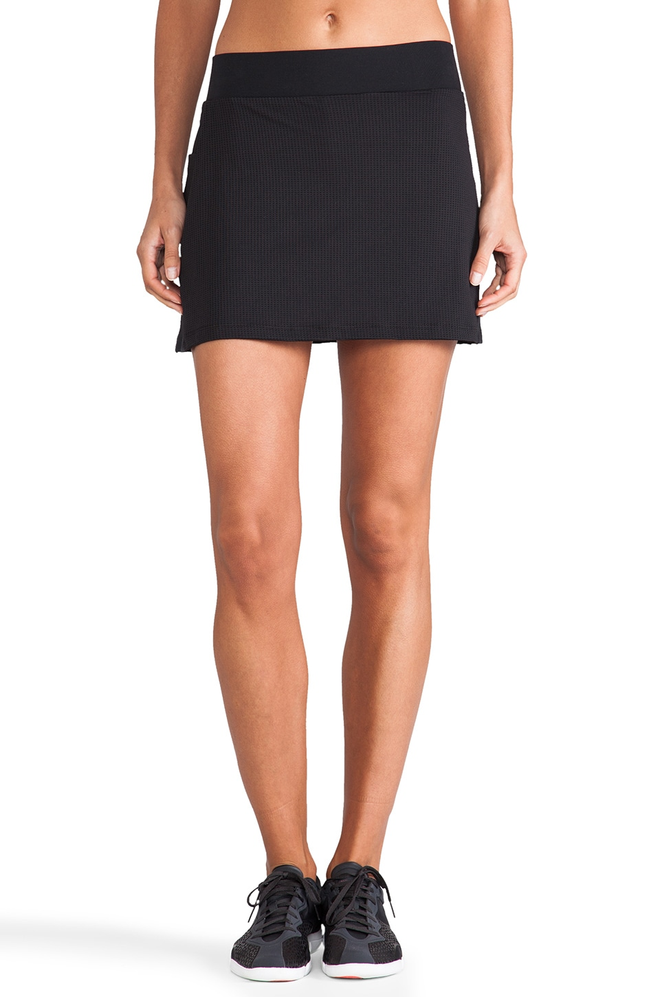 SOLOW Eclon Basics Eclon Skort with Mesh in Black