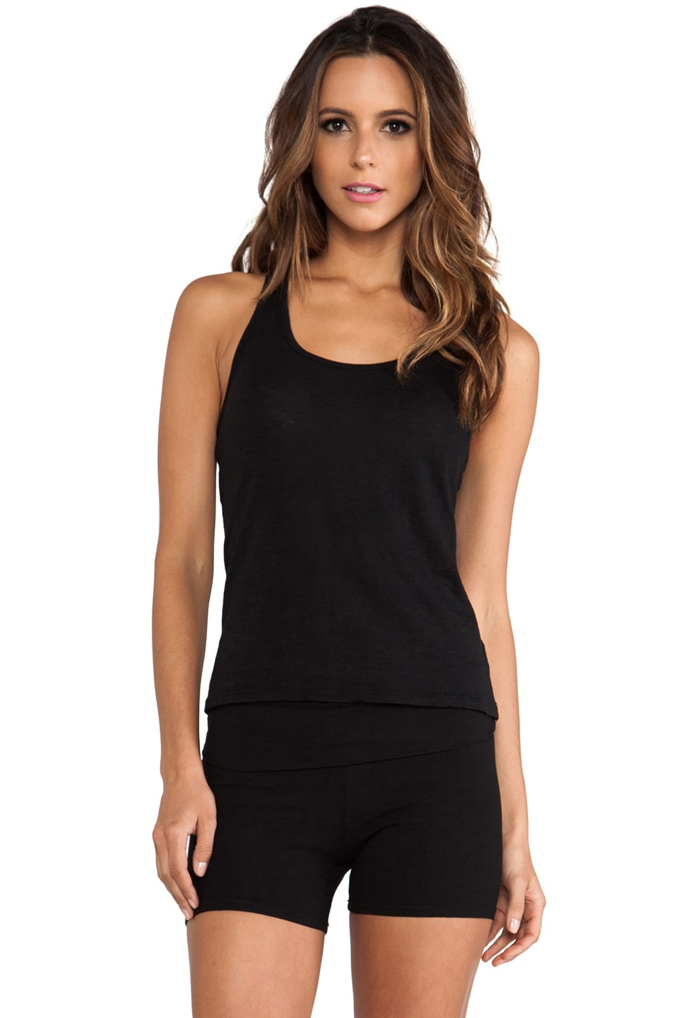 SOLOW Keyhole Tank in Black