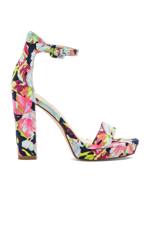 SOLES X NUDE Flamenco Luxe Heel in Floral