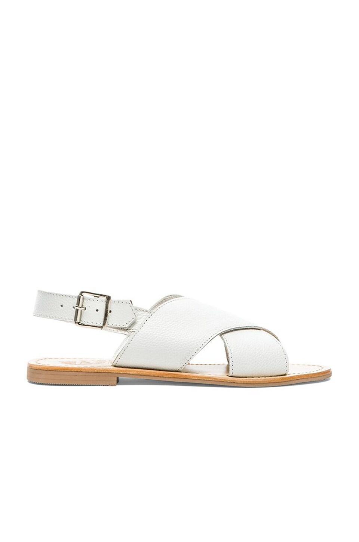 SOLES Tamworth Sandal in White