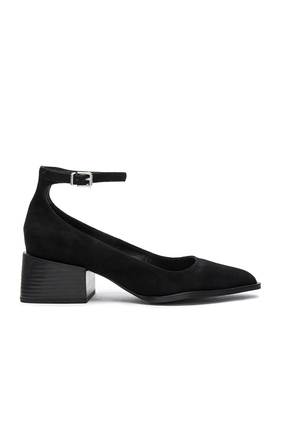 Sol Sana Donna Mary Jane in Black Suede