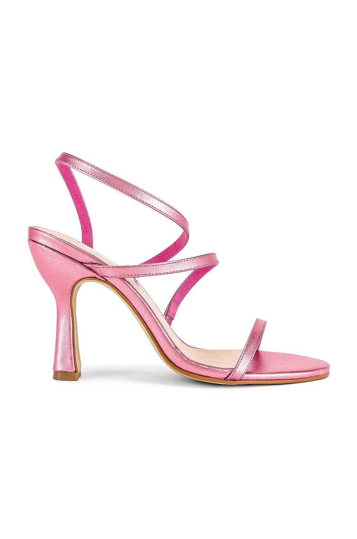 Sol Sana Lola Heel in Pink Metallic