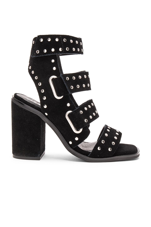 Sol Sana Lixer Heel in Studded Black Suede