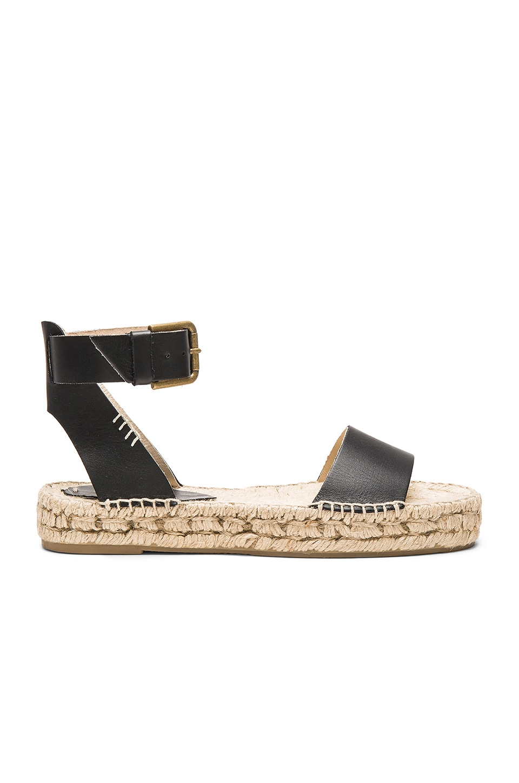 f347720fb93 Soludos Platform Open Toe Sandal in Black | REVOLVE