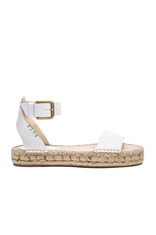 07523064e92 Soludos Open Toe Platform Sandal in White | REVOLVE