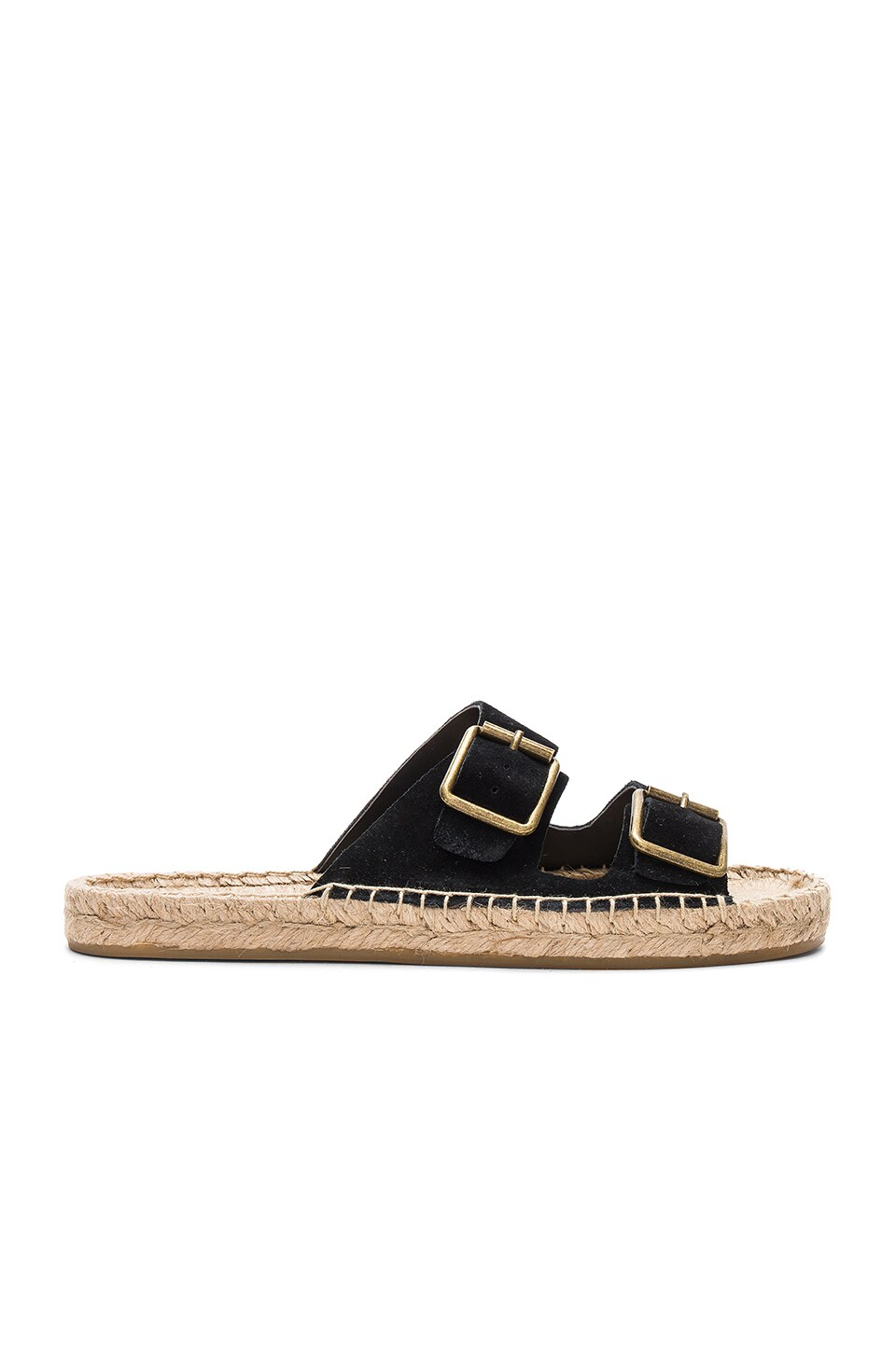 Soludos Elba Sandal in Black