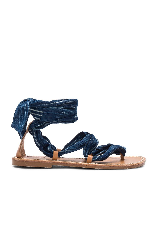 Indigo Bandana Sandal by Soludos