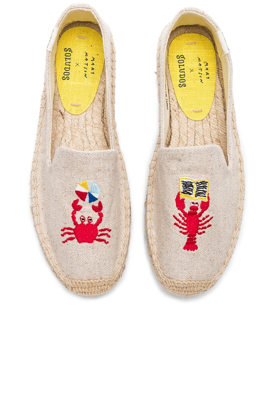 Soludos Canvases LOBSTER AND CRAB PLATFORM