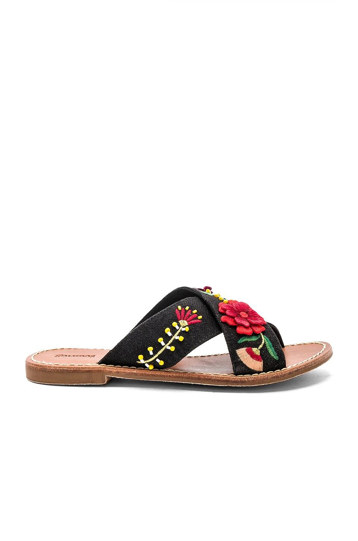 Embellished Floral Sandal