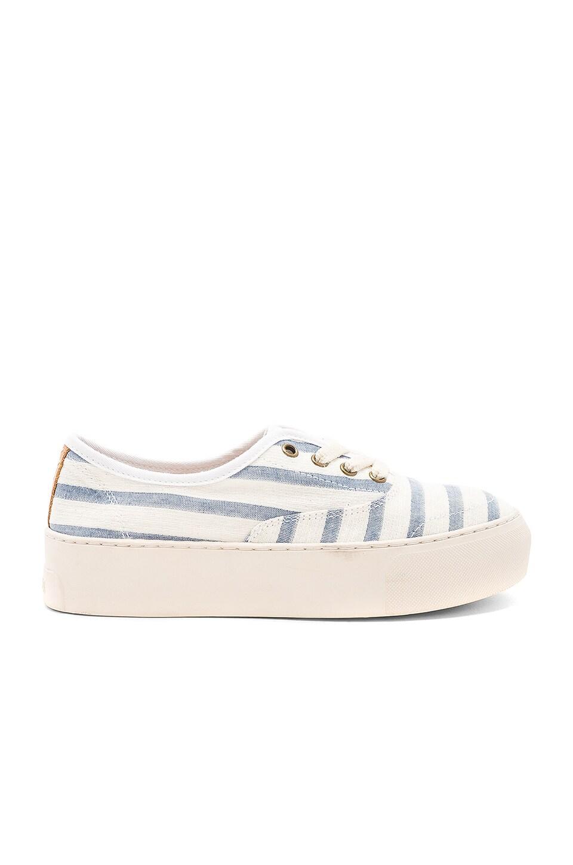 Platform Stripe Sneaker