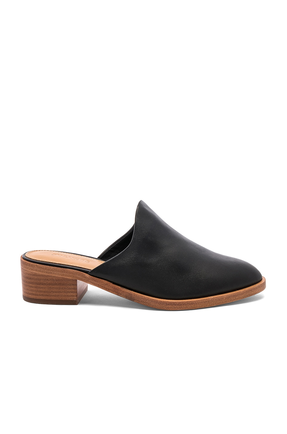 Soludos Venetian Mule in Black