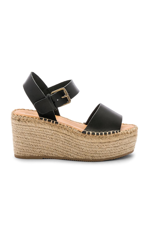 Soludos Minorca High Platform Sandal in Black