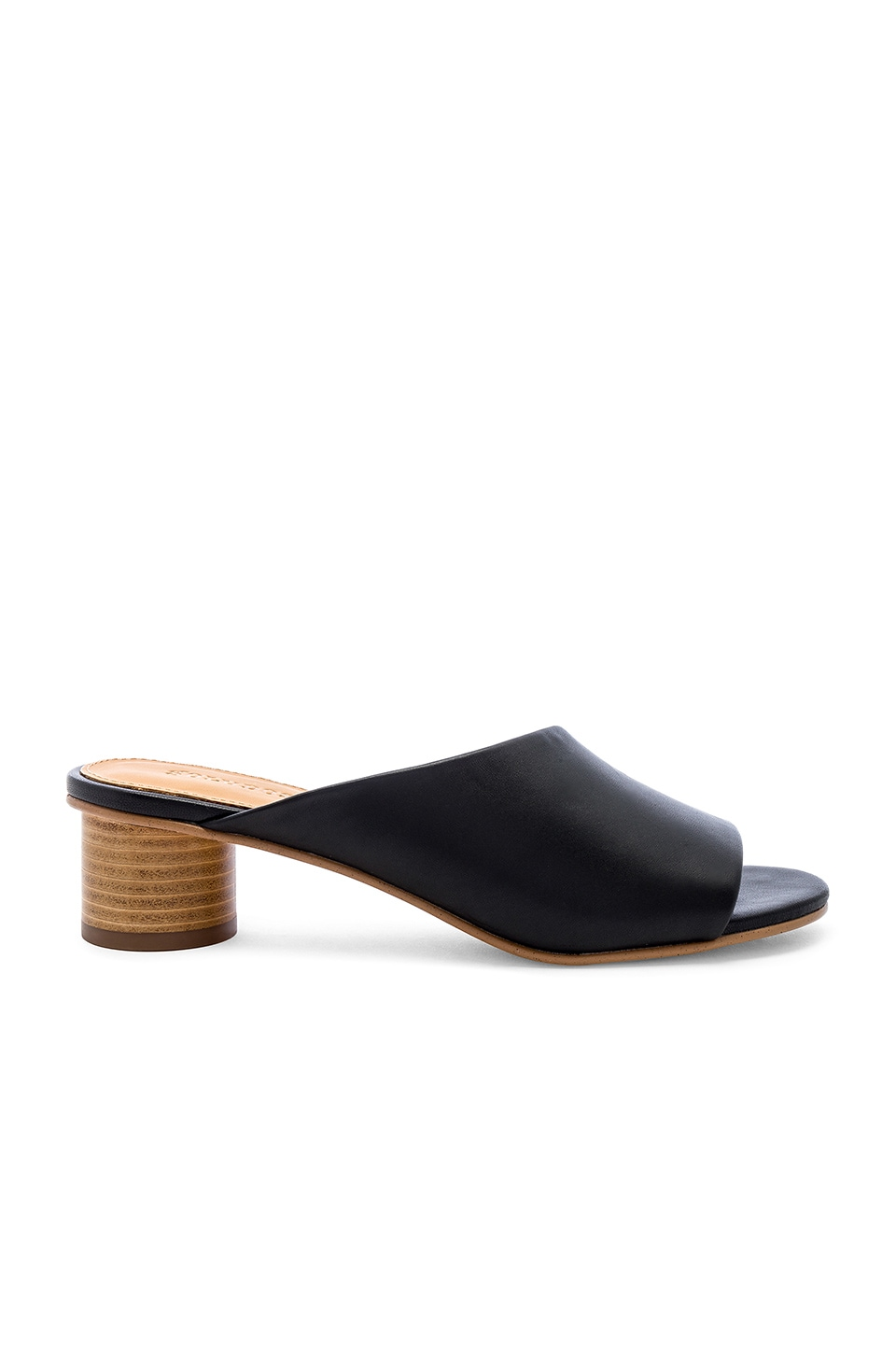 Soludos Milan Mule in Black