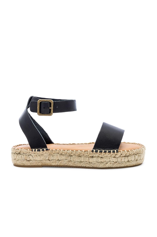 Soludos Cadiz Sandal in Black