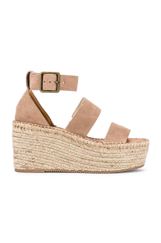 Soludos Palma Platform Sandal in Blush