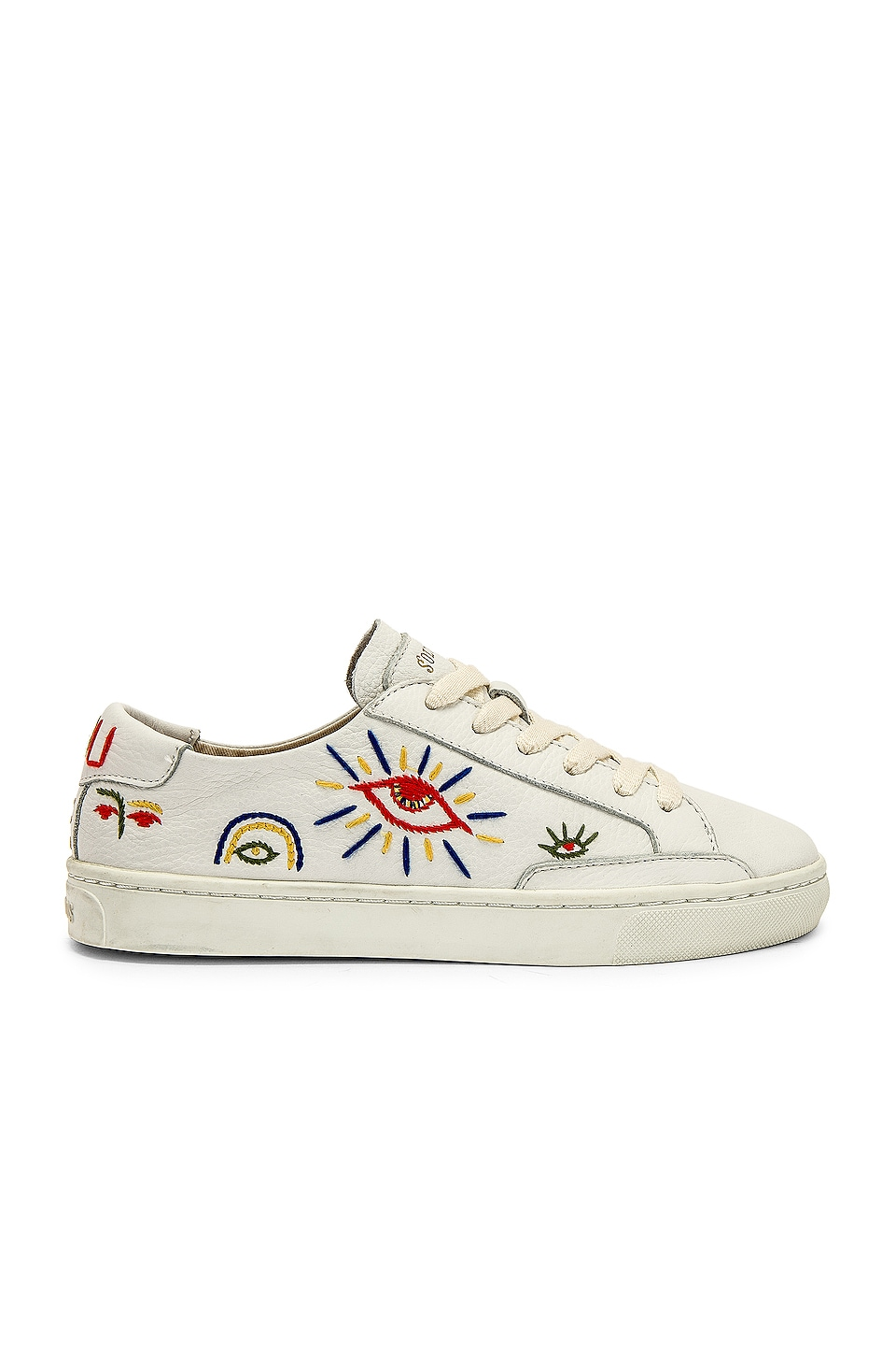 Soludos Ibiza Look Sneaker in White