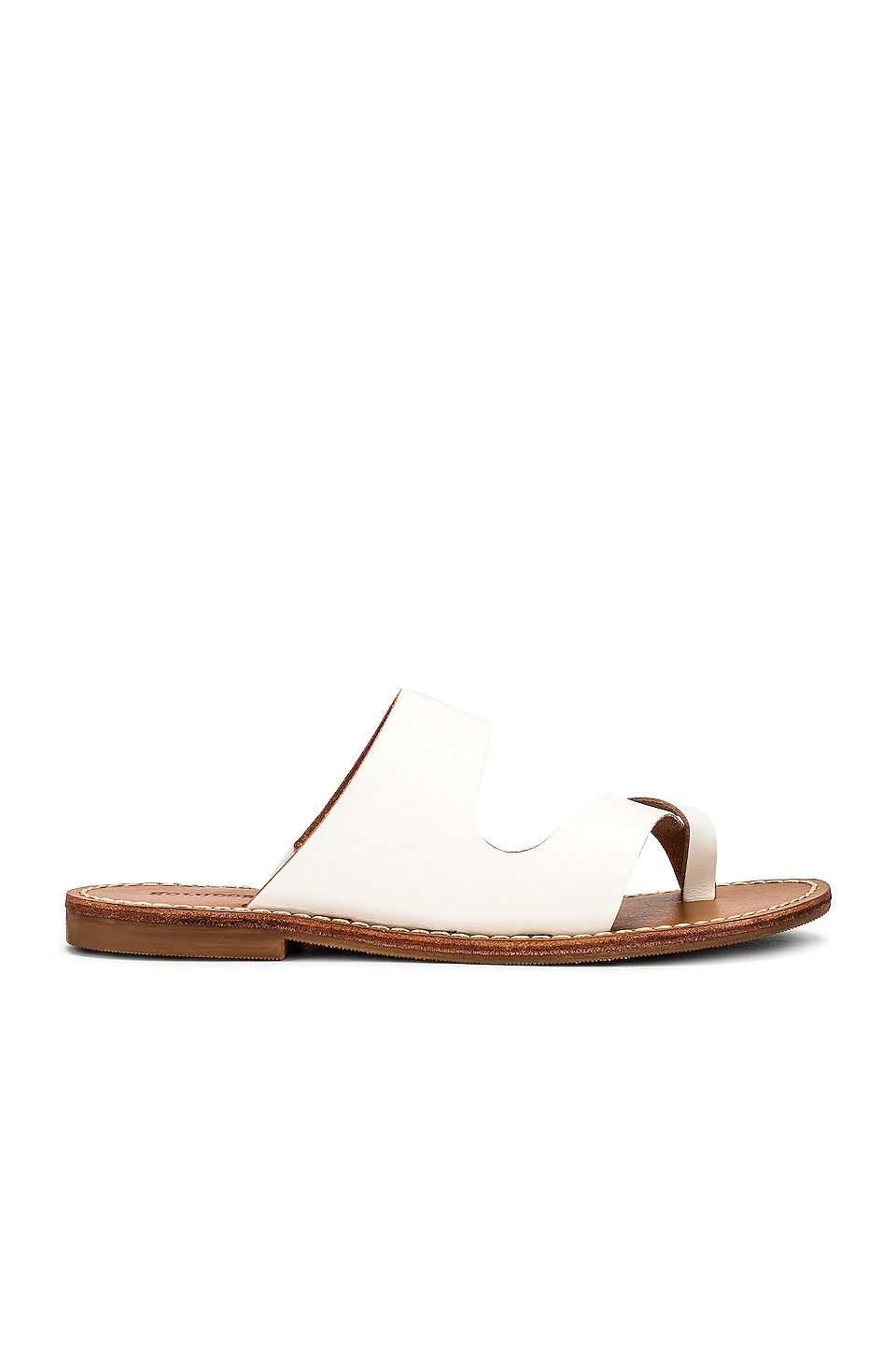 Soludos Mila Slide Sandal in White