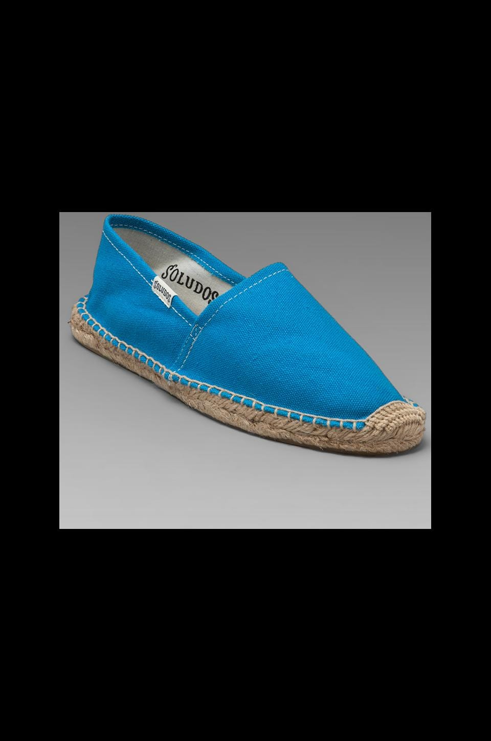 Soludos Dali Flat in Blue