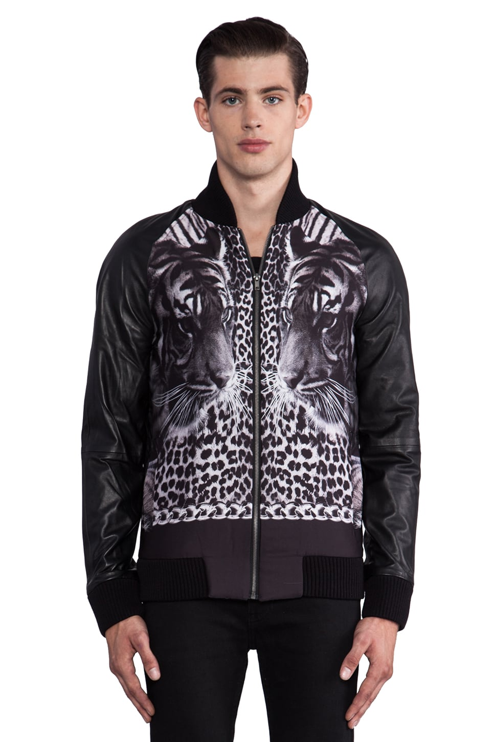 Sons of Heroes Double Tiger Bomber in Black