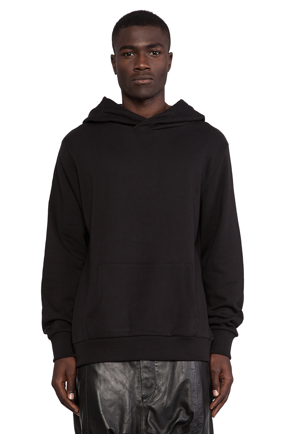 Sons of Heroes Basic Hoodie in Black