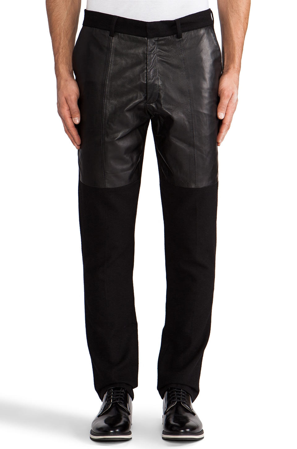 Sons of Heroes Leather Panel Trouser