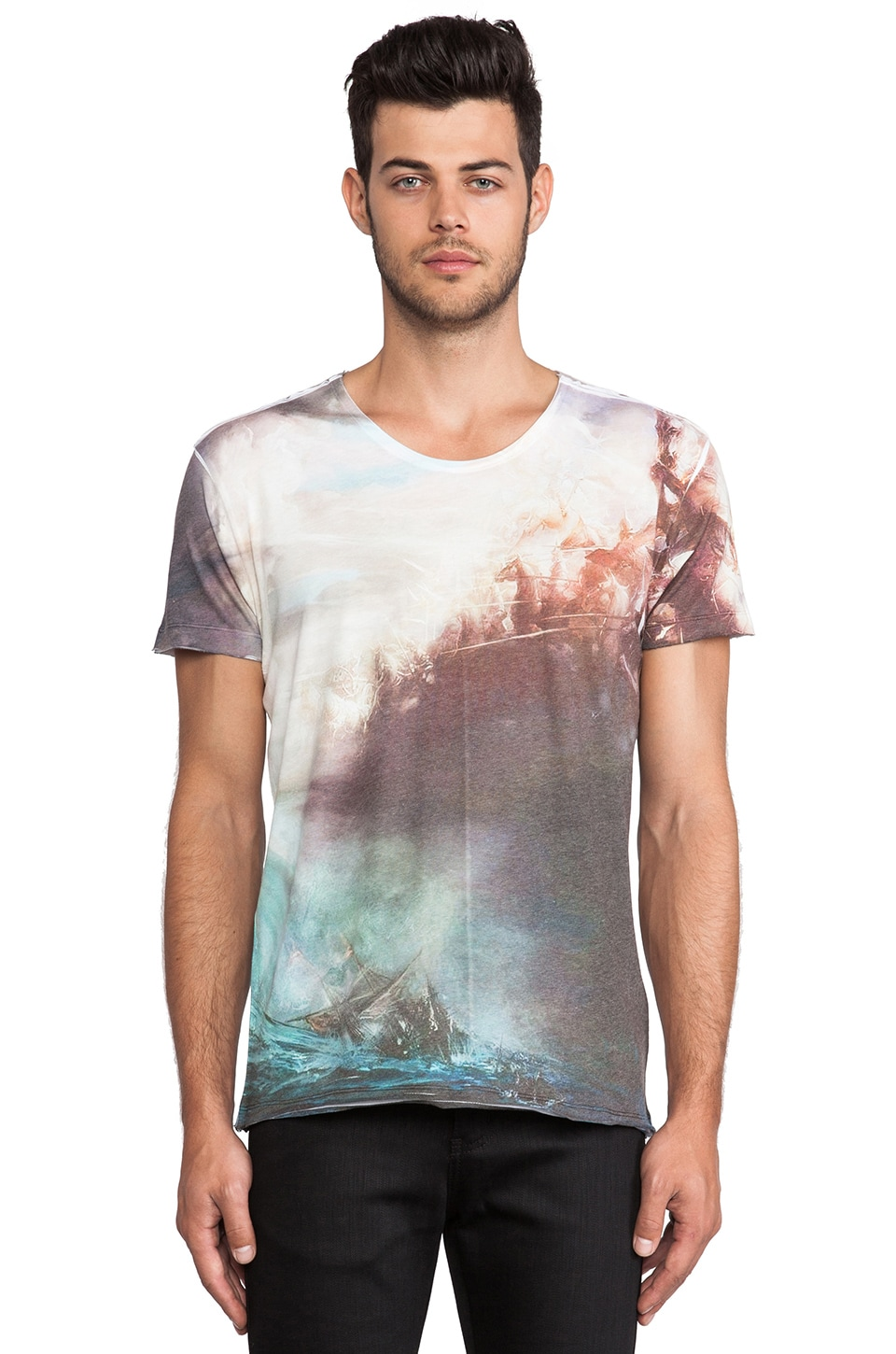 Sons of Heroes Poseidon T-Shirt in Multi