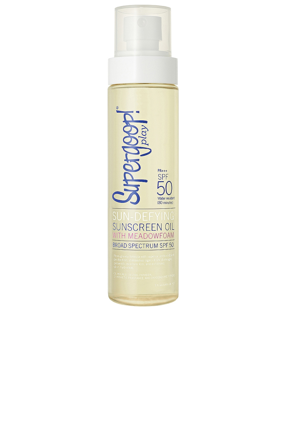 Supergoop! Sun Defying Sunscreen Oil SPF 50 5 oz