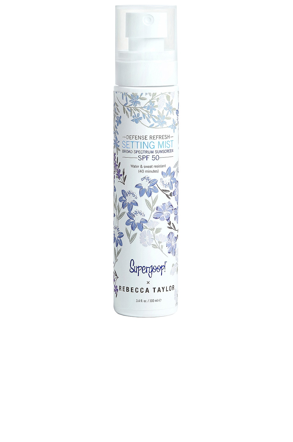 Supergoop! x Rebecca Taylor Defense Refresh Setting Mist SPF 50 3.4 fl oz