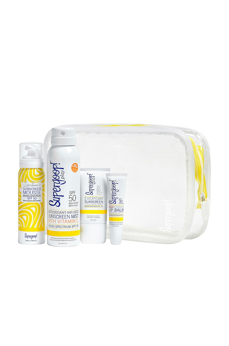 Supergoop! Live Bright Sunscreen Kit