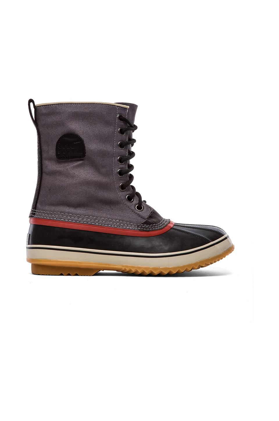 Sorel 1964 Premium T CVS in Charcoal/Black